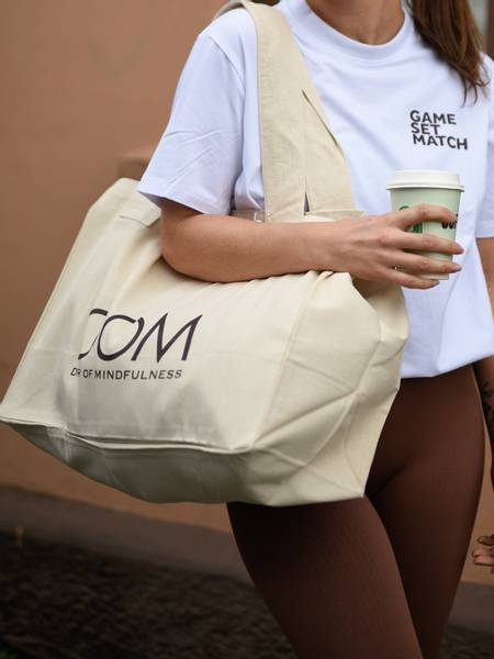Bilde av Drop of Mindfulness Tote Bag